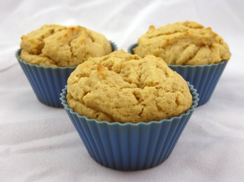 Moist Coconut Peanut Butter Muffins