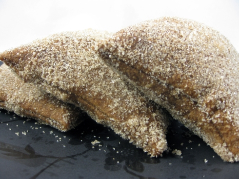 Chocolate Sopapillas with Cinnamon and Sugar