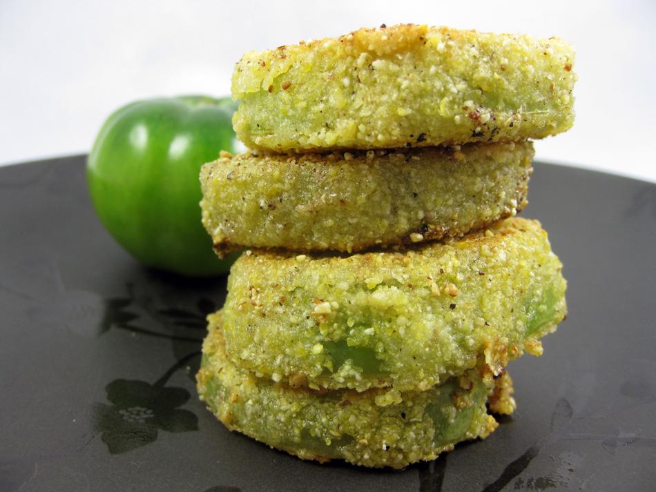 Fried Green Tomatoes | Vegan Food Addict