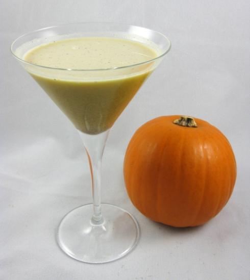 Creamy Pumpkin Spice Martini