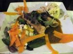 Flautas de Verduras con Papa y Chorizo Vegano