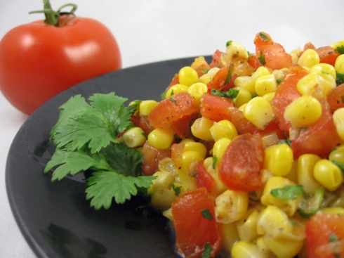 Corn and Tomato Salsa Fresca