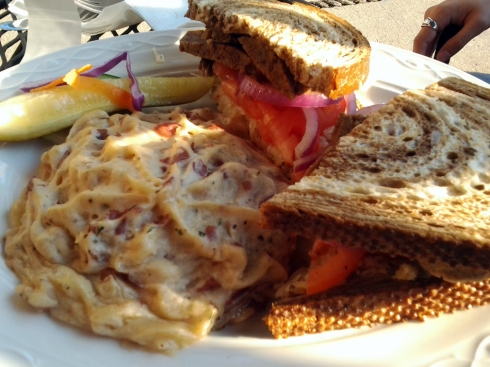 Corned Beef Style Seitan Reuben from County Clare