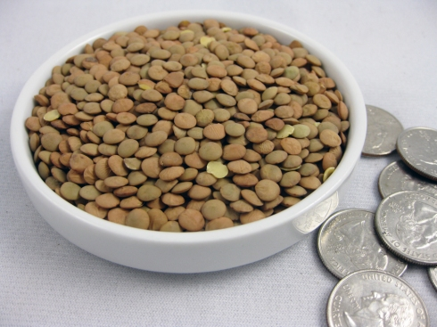 Lentils and Coins