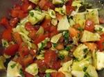 Artichoke Hearts & Tomato Salad
