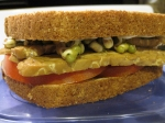 Bacon, Sprout and Tomato Sandwich