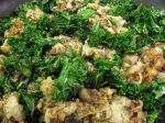 Garlic Hashbrowns With Kale