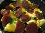 Spinach, Beet and Orange Salad
