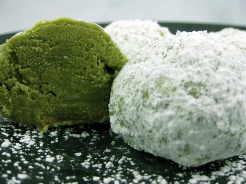 Green Tea Coconut Cookies