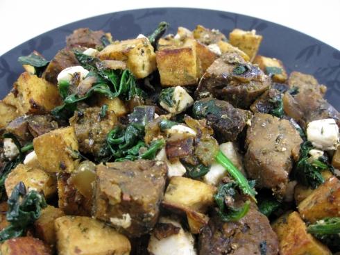 Tofu & Sausage Sauté