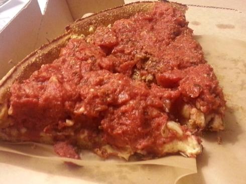 Deep Dish Pizza from Pi Pizzeria