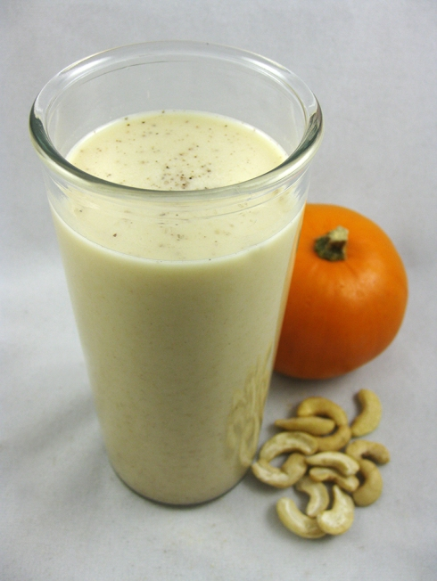 Cashew and Pumpkin Spice Horchata