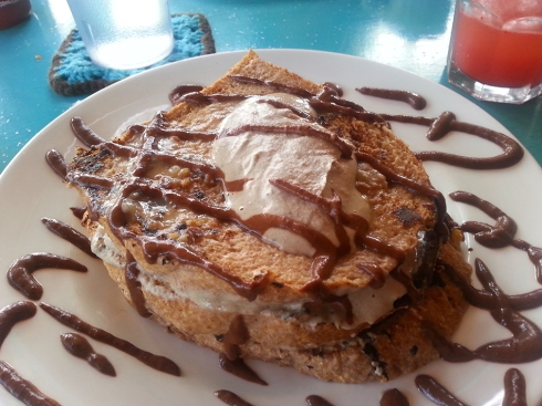 Mocha Stuffed French Toast from Counter Culture