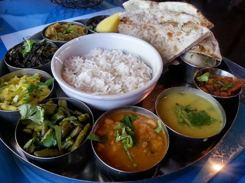 5 Star Thali Platter from New India Cuisine