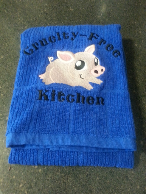 Cruelty-Free Kitchen Towel from Rabbit Food Grocery