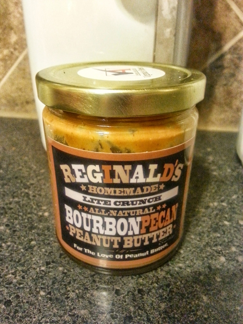 Reginald's Bourbon Pecan Peanut Butter from Central Market