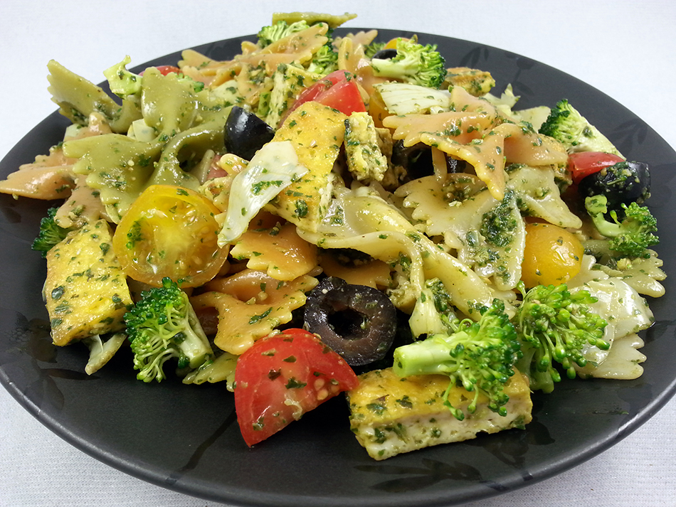 Pesto Pasta Salad | Vegan Food Addict