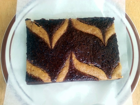 Peanut Butter Brownie from the Sweetpea Baking Company