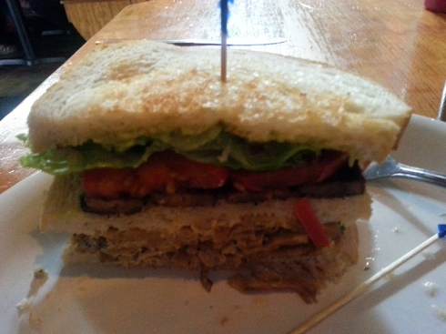 Vegan Club Sandwich from Vita Cafe