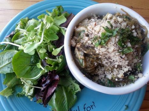 Sensational dish from Café Gratitude