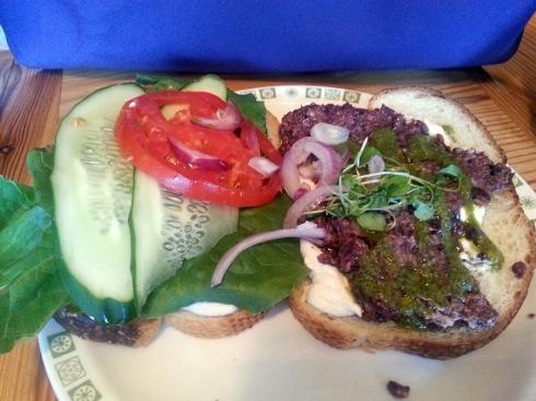 Olivada sandwich from FüD
