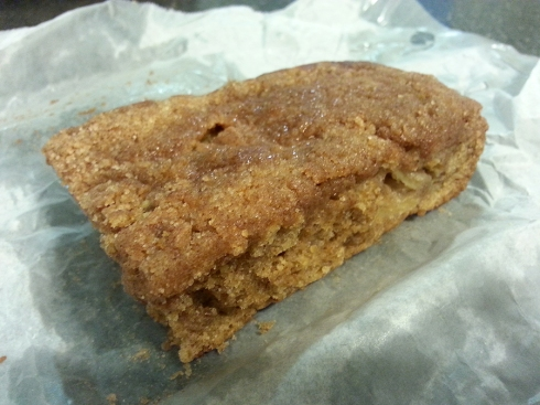 Apple Crumb Cake from Mud Pie Vegan Bakery & Coffee