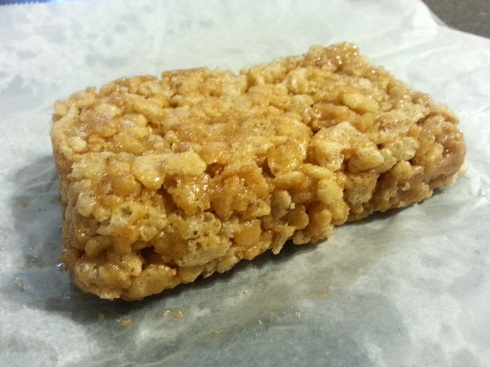 Peanut Butter Crispy Treat from Mud Pie Vegan Bakery & Coffee